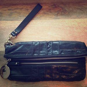 Charles David Leather clutch